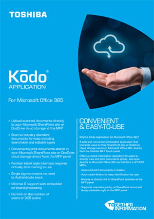 Brochure Kodo App for Microsoft 365