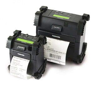 Toshiba mobile label printer