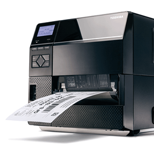 Toshiba industrial label printer