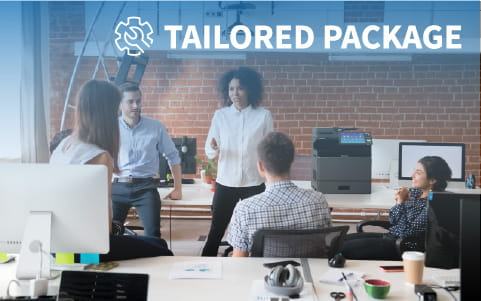 Tailor a package for your business