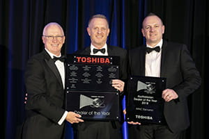 Dealer of the year Winc Tasmania