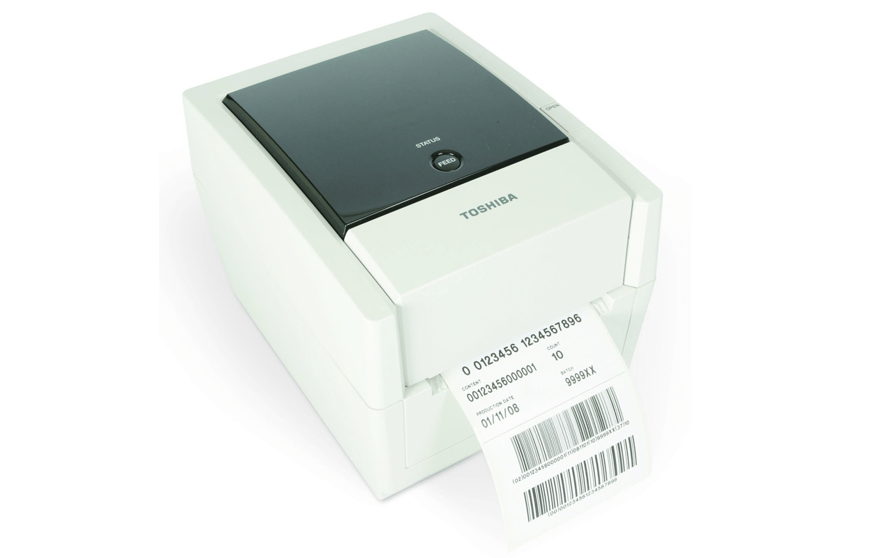 B-EV4T : Desktop barcode label printer | Toshiba