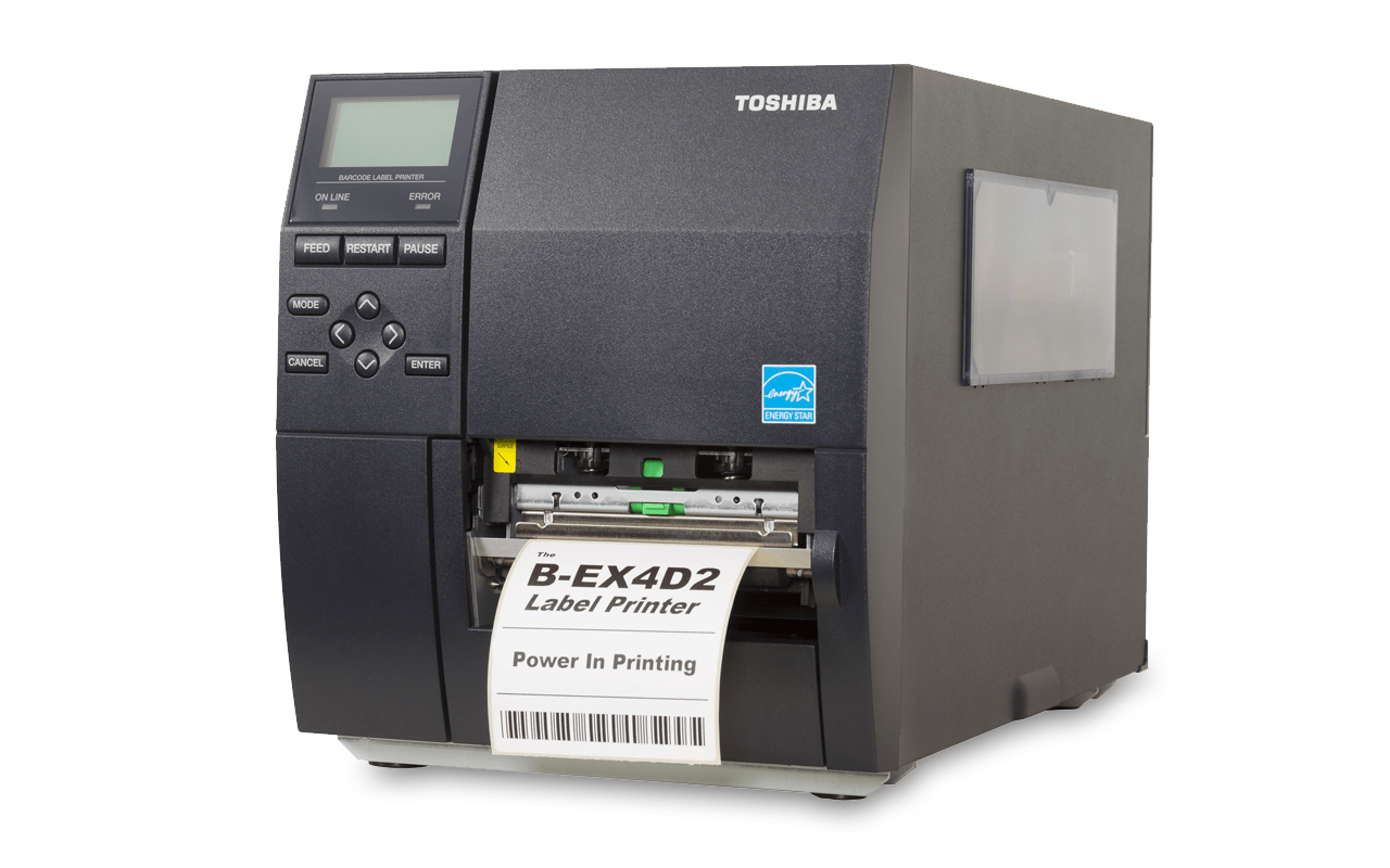 Toshiba B-EX4D2 barcode label printer