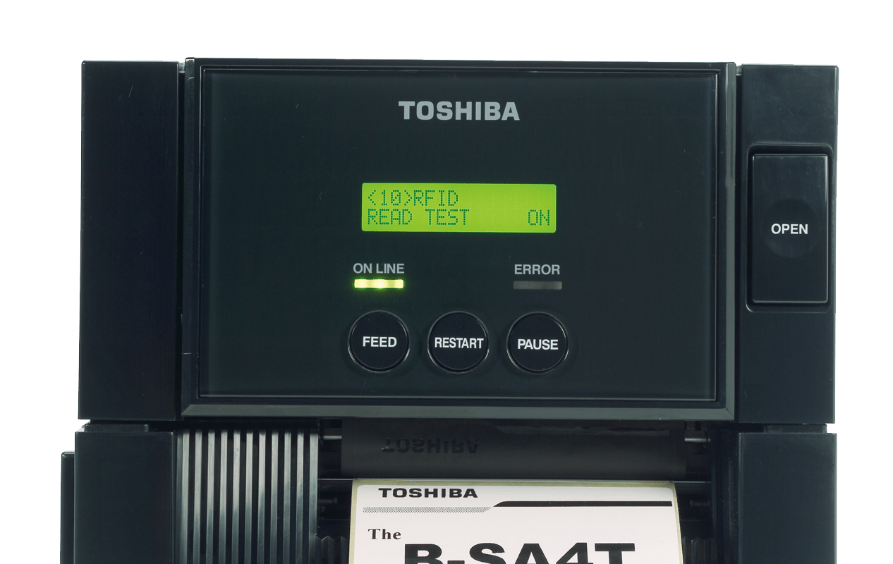 Toshiba B-SA4TM industrial barcode label printer