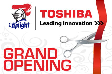 Toshiba Newcaslte Showroom Launch