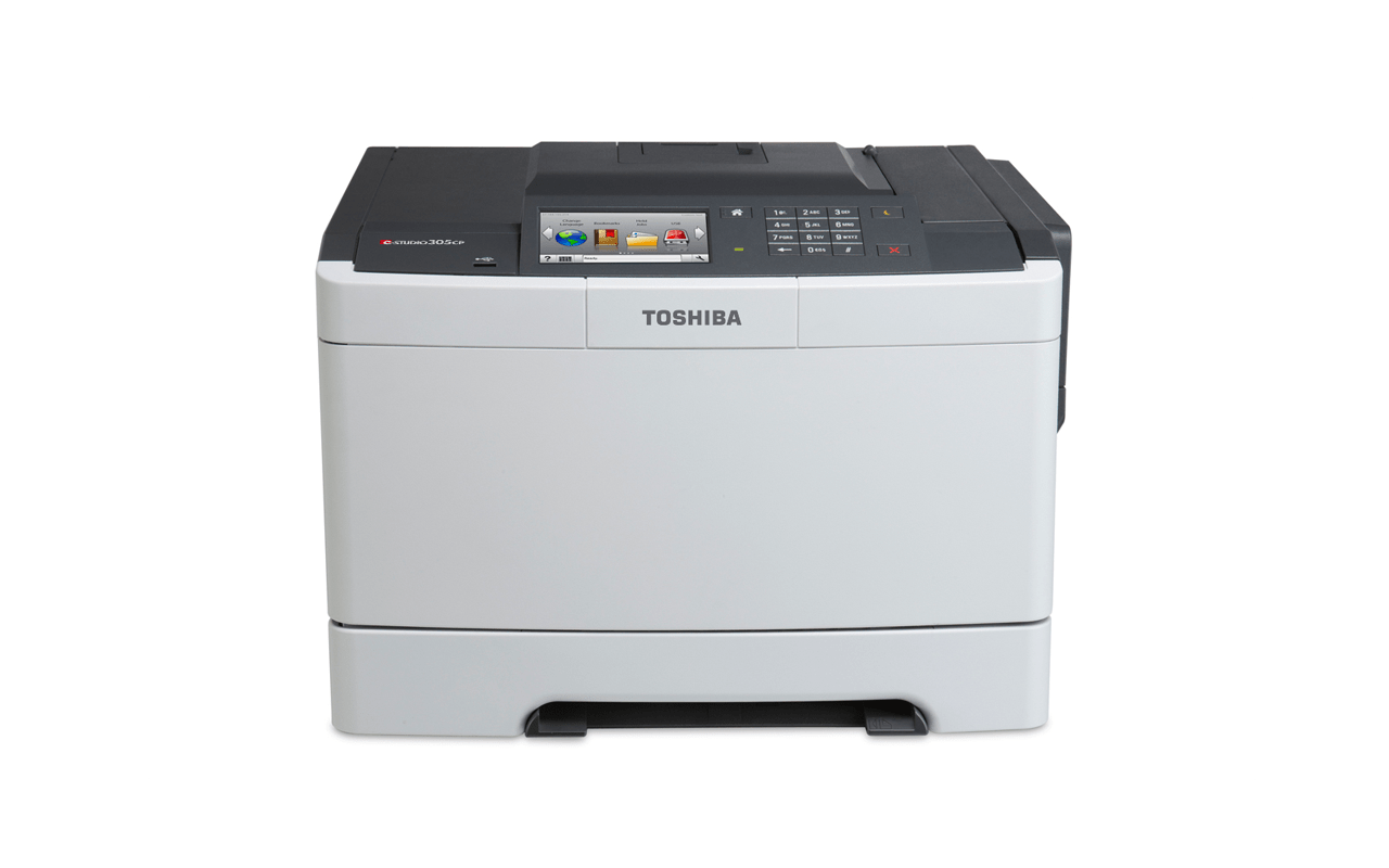 Toshiba e-STUDIO305CP desktop A4 printer